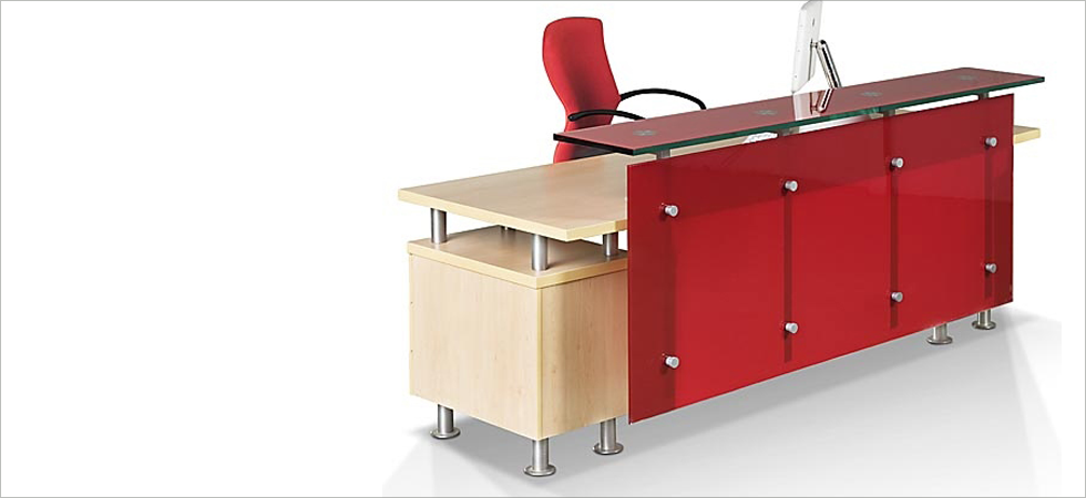 Trendy Office Furniture - Dike Reception Desk